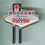 RE/MAX Las Vegas Sign Pin
