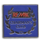 Chairman's Club Pin 1 3/8