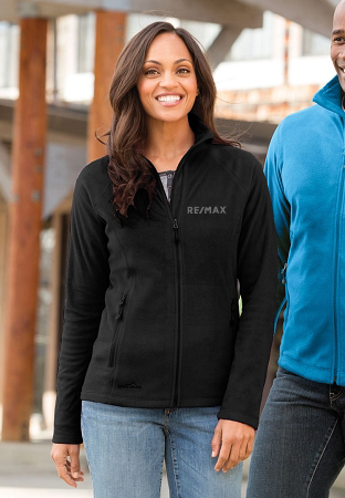 Ladies' Micro Fleece Full Zip Jacket