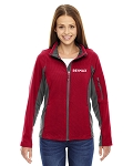 North End Ladies' Generate Textured Fleece Jacket