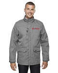 North End Men's Uptown Three-Layer Light Bonded City Textured Soft Shell Jacket