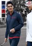 Cutter & Buck Men's Jackson Half Zip Overknit