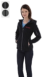 ESSENTIAL HOODED SOFT SHELL LADIES' JACKET