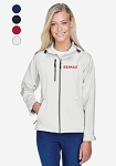 Ladies' Prospect Two-Layer Fleece Bonded Soft Shell Hooded Jacket