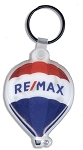 Plastic RE/MAX Balloon Keychain