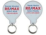 RE/MAX Balloon Clear Cut Acrylic Keychain - Personalized