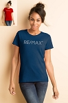 Ladies' Missy Fit T-shirt - RE/MAX Bling (Silver)