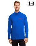 Men's Under Armour Tech Quarter-Zip - Royal