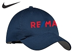 Nike Golf Unstructured Cap (Navy)