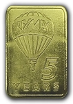 Gold Pin (5 Years)