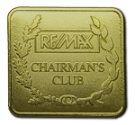 Gold Pin (Chairmans Club)