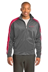 Men's Piped Tricot Track Jacket