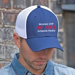 Deluxe Chino Twill / Polyester & Spandex Cap - Personalized