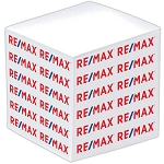 RE/MAX Paper Cube