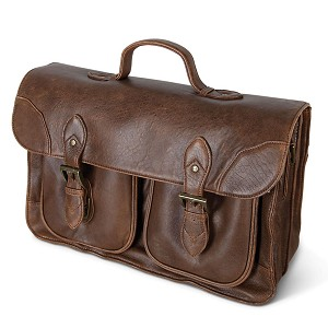 The Bomber Jacket Briefcase