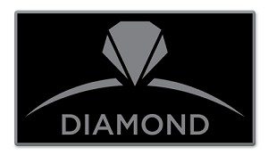 Diamond Pin - Black