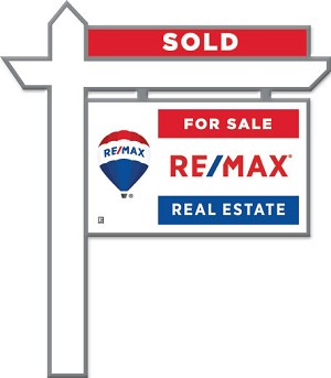 RE/MAX Real Estate Sign Pin