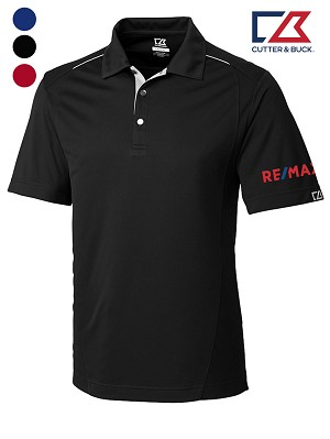 Cutter & Buck Men's CB DryTec Foss Hybrid Polo