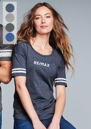 District ® Women's Scorecard Tee