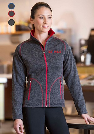 New Premium Collection Ladies' Slim Bonded Fleece  Jacket