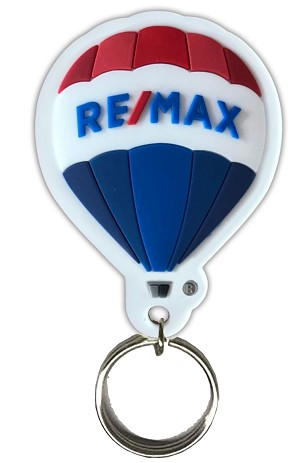 RE/MAX Balloon PVC 3D Keychain
