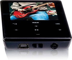 "RCA Video MP3 Player with  2"" Color Display 4GB"