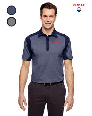 Men's Merge Cotton Blend Mélange Polo