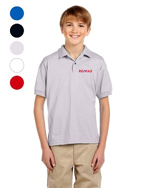 Dry Blend® Youth 50/50 Jersey Polo