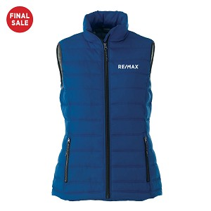 Ladies' Mercer Insulated Vest - Royal - FINAL SALE