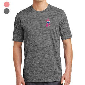 PosiCharge® Electric Heather Tee - Awareness