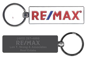 "RE/MAX Keychain (2.75"") - Personalized"