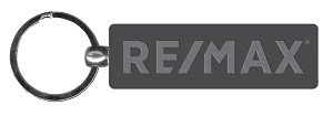 "RE/MAX Siulver Keychain (2.75"")"