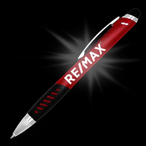 Delta Luminant Pen/Stylus - Ruby Red