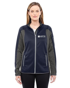 Ladies' Motion Interactive ColorBlock Performance Fleece Jacket - MOTTO