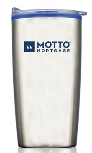 20 OZ. Stainless Steel Travel Tumbler - MOTTO