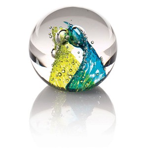 Waterford Evolution  Cosmic Waters Paperweight
