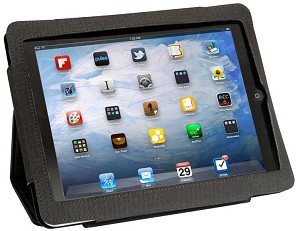 iPad Leather Case & Stand