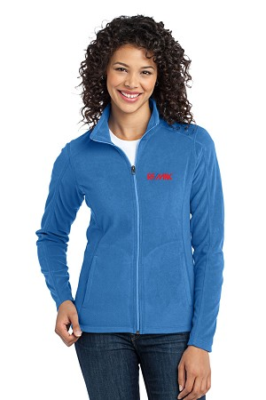 Microfleece Jacket (Ladies') (Light Royal)