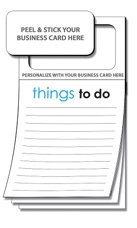 """Things To Do"" Magnetic Note Pad"